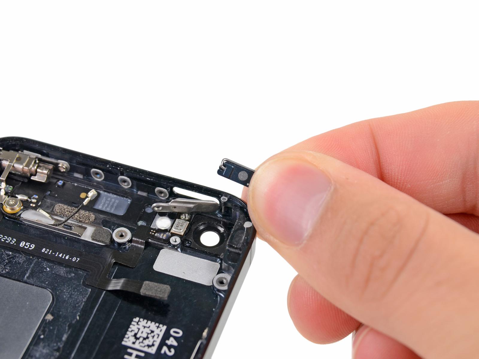 Замена кнопки включения на iphone 5