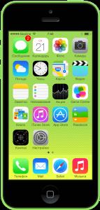 Наклейка бронестекла 3D iPhone 5c