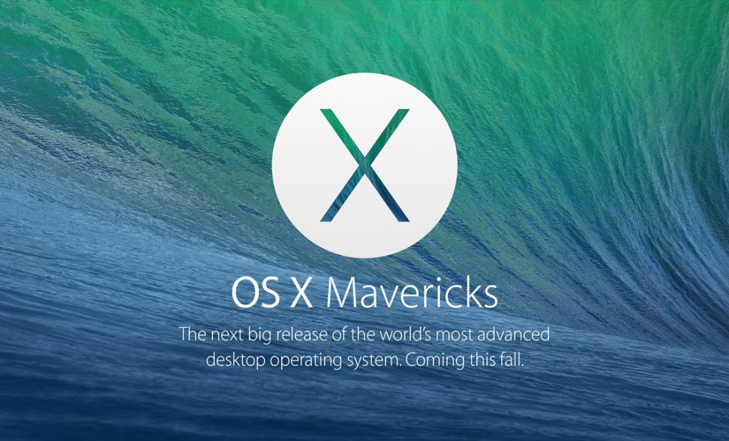 В преддверии релиза OS X Mavericks - фото 1 | Сервисный центр Total Apple