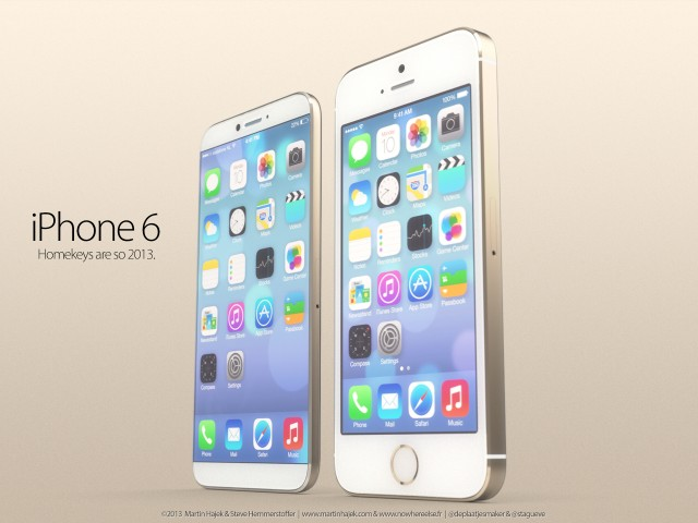 Концепты iPhone 6c и iPhone 6 Air на iOS 8 - фото 1 | Сервисный центр Total Apple