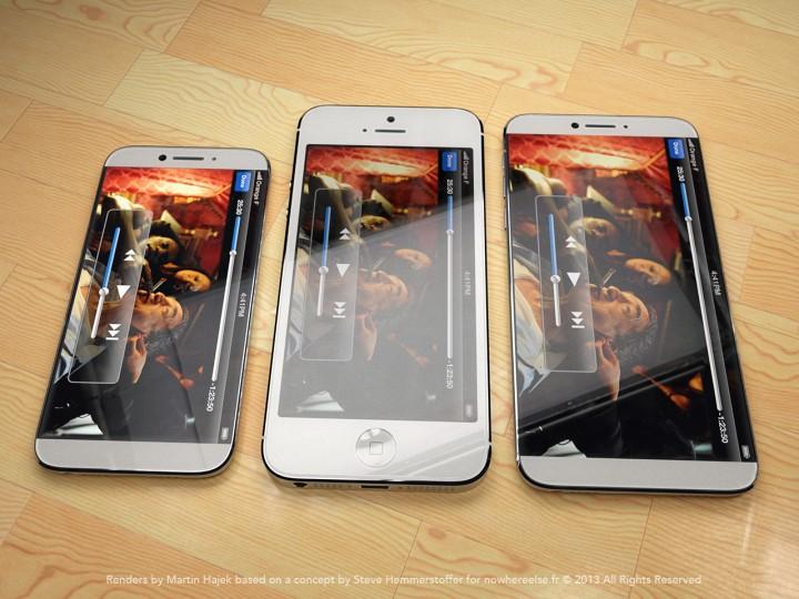 Как будет выглядеть iPhone 6 по сравнению с конкурентами - фото 1 | Сервисный центр Total Apple