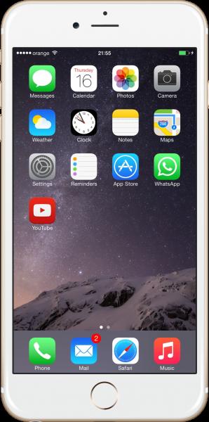 Получение данных из резервной копии iPhone 6 Plus