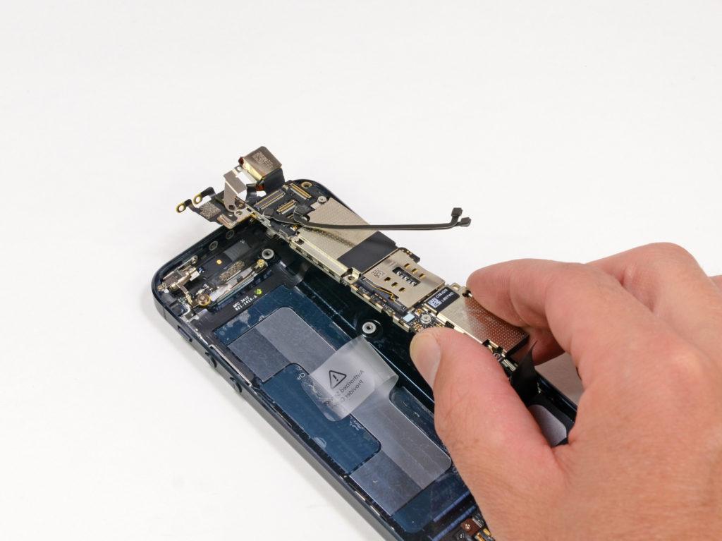 ремонт модемной части айфон 5