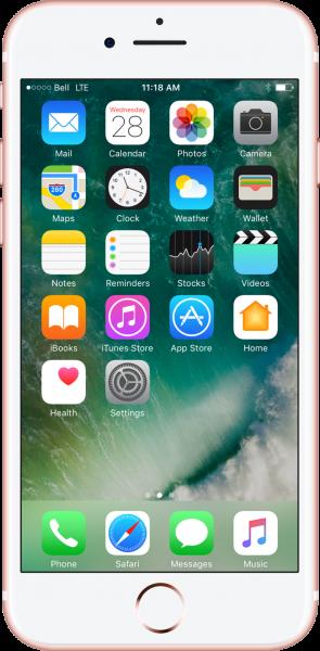Наклейка пленки iPhone 7