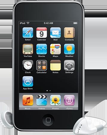 Чистка от пыли и грязи iPod Touch 3G