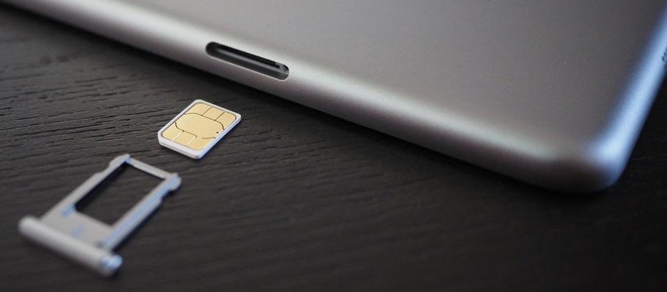 Как извлекаются SIM-карты на iphone 7 plus