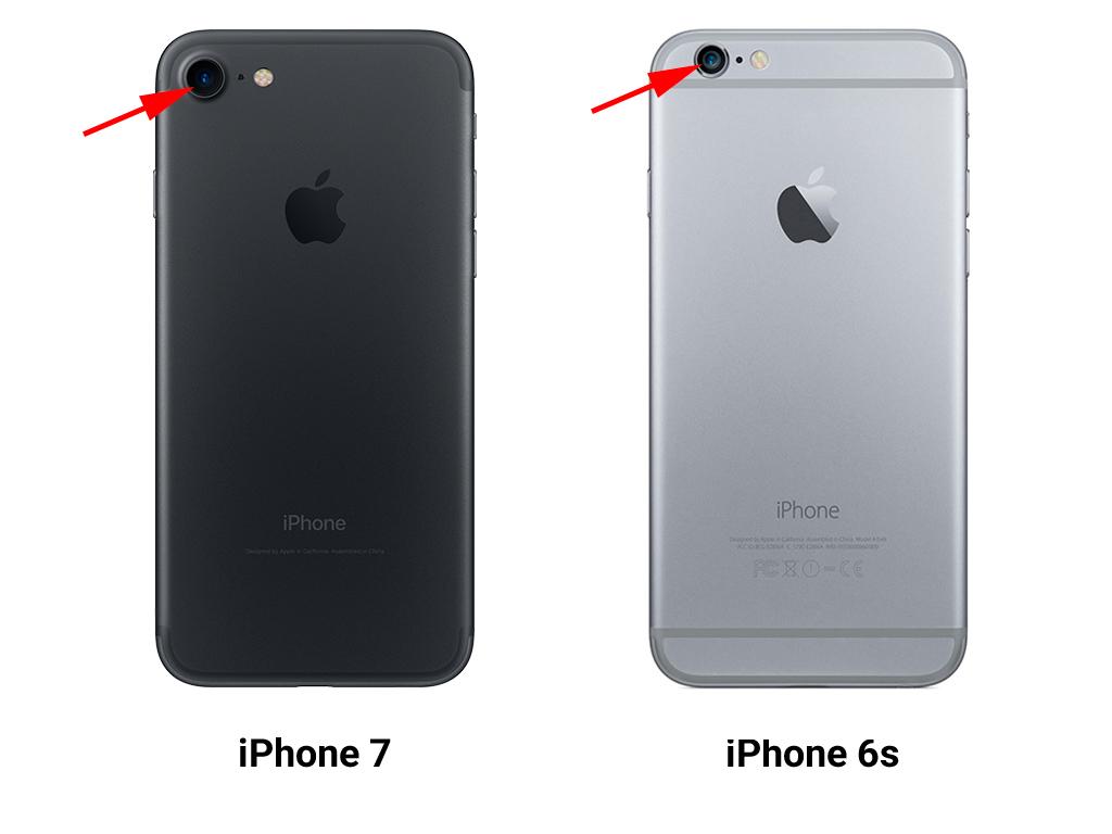 Чем отличается iPhone 6s от iPhone 7 - фото 3 | Сервисный центр Total Apple