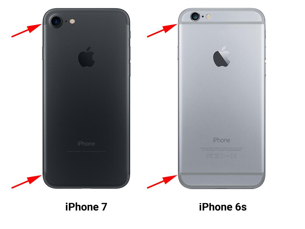 Чем отличается iPhone 6s от iPhone 7 - фото 2 | Сервисный центр Total Apple