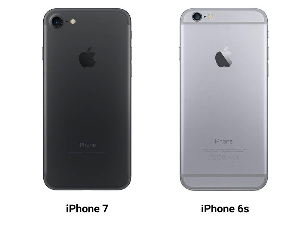 iphone 6 и iphone 7