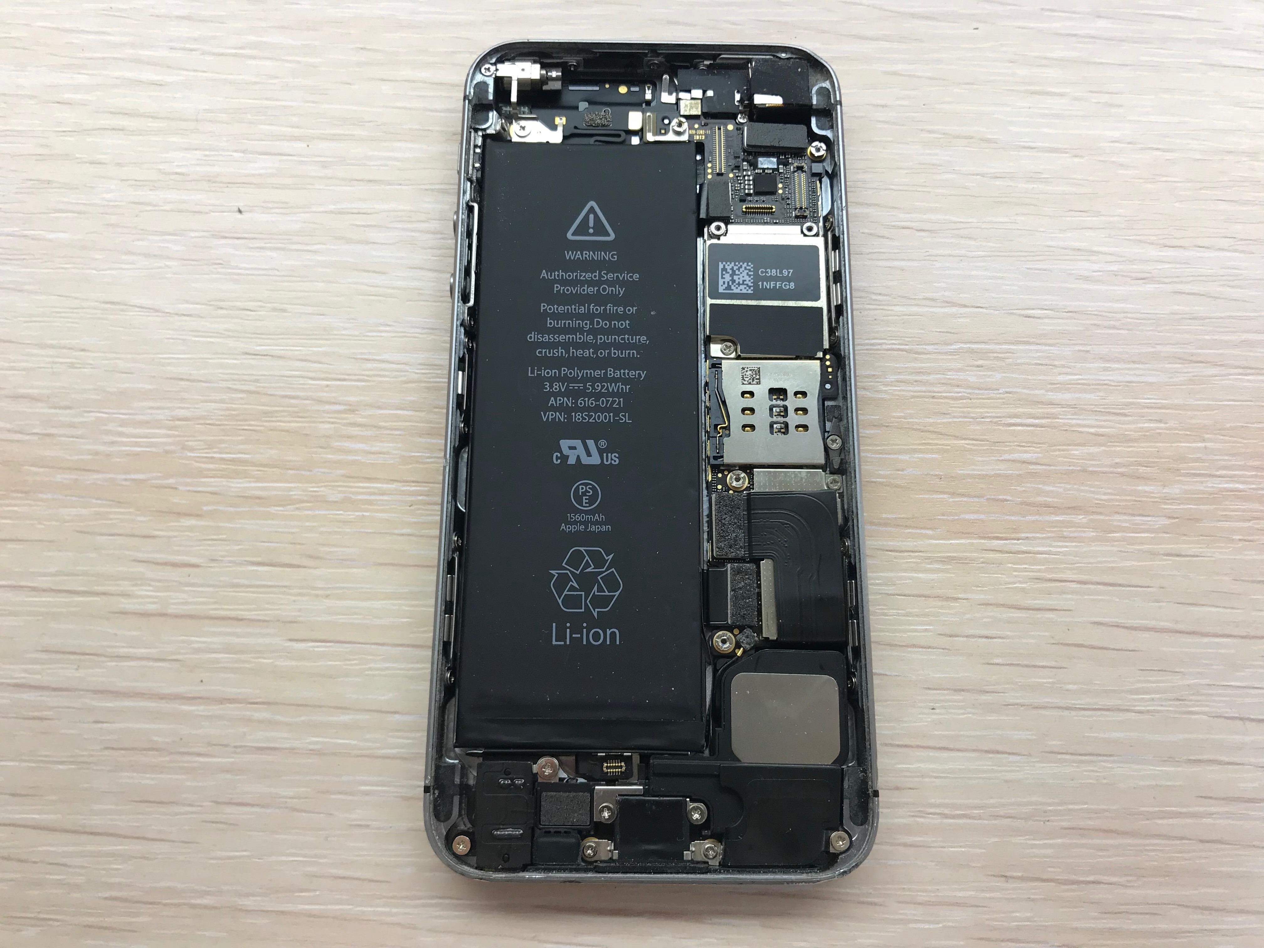 замена акб iphone 5s цена