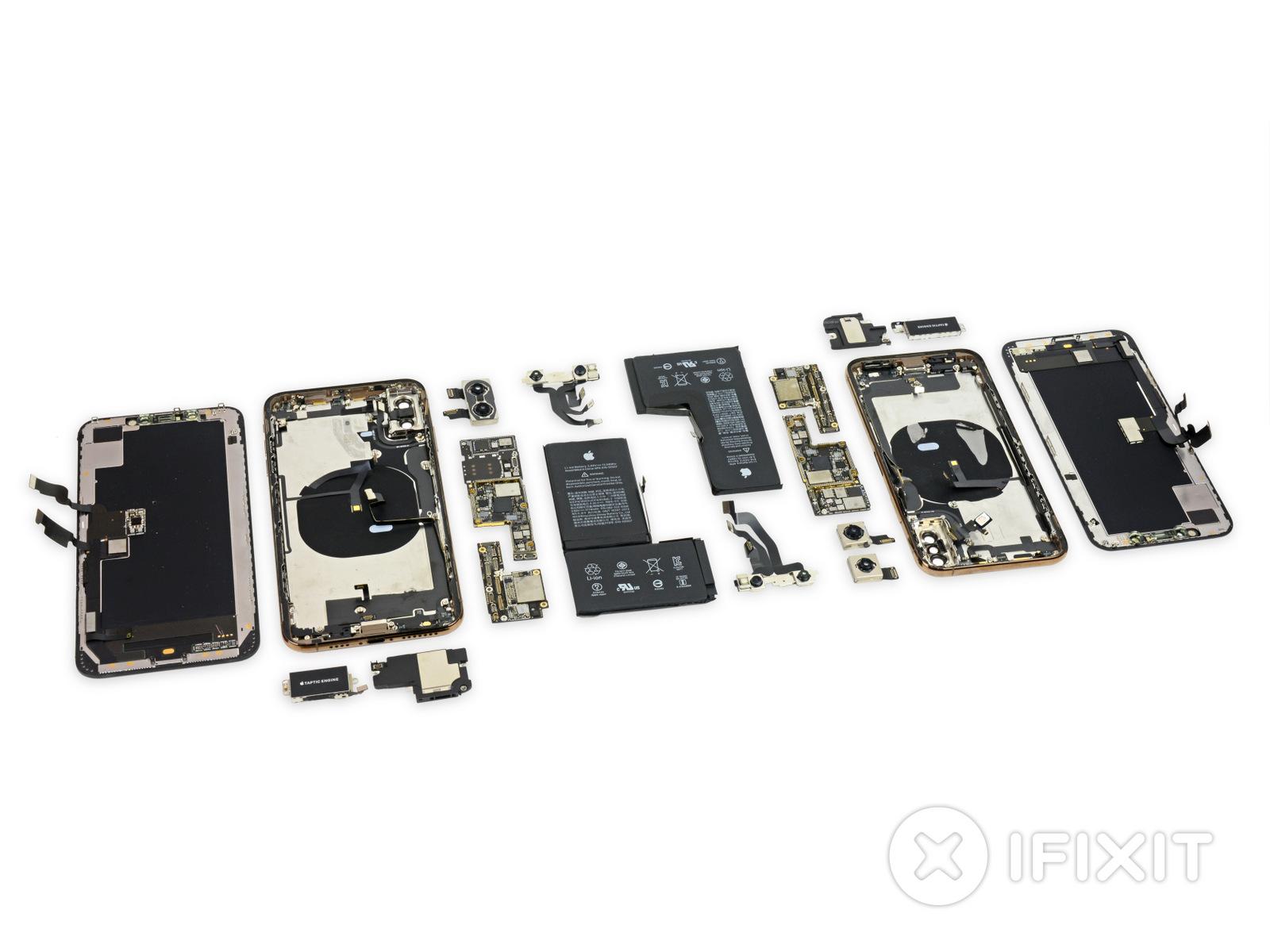 Эксперты из iFixit разобрали iPhone XS и XS Max и испытали их влагозащиту необычным способом - фото 2 | Сервисный центр Total Apple