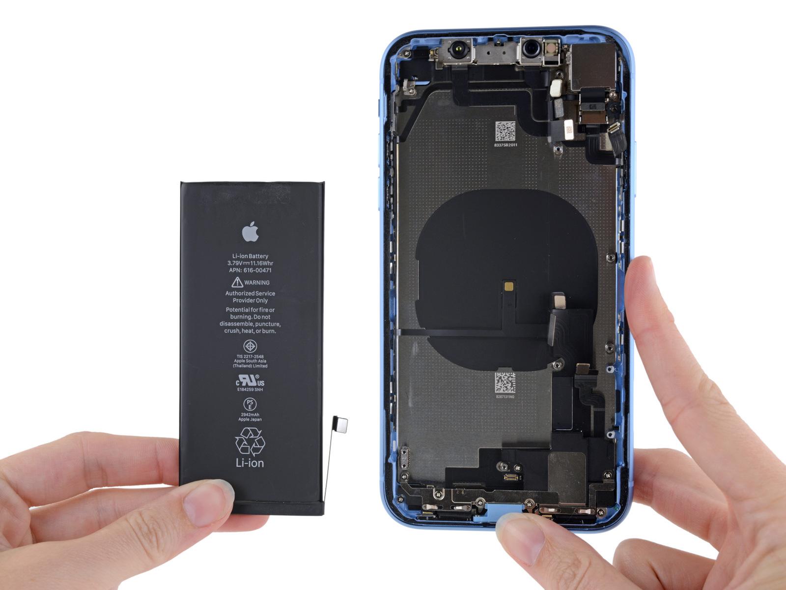 Apple iPhone XR разобран экспертами iFixit - фото 3 | Сервисный центр Total Apple