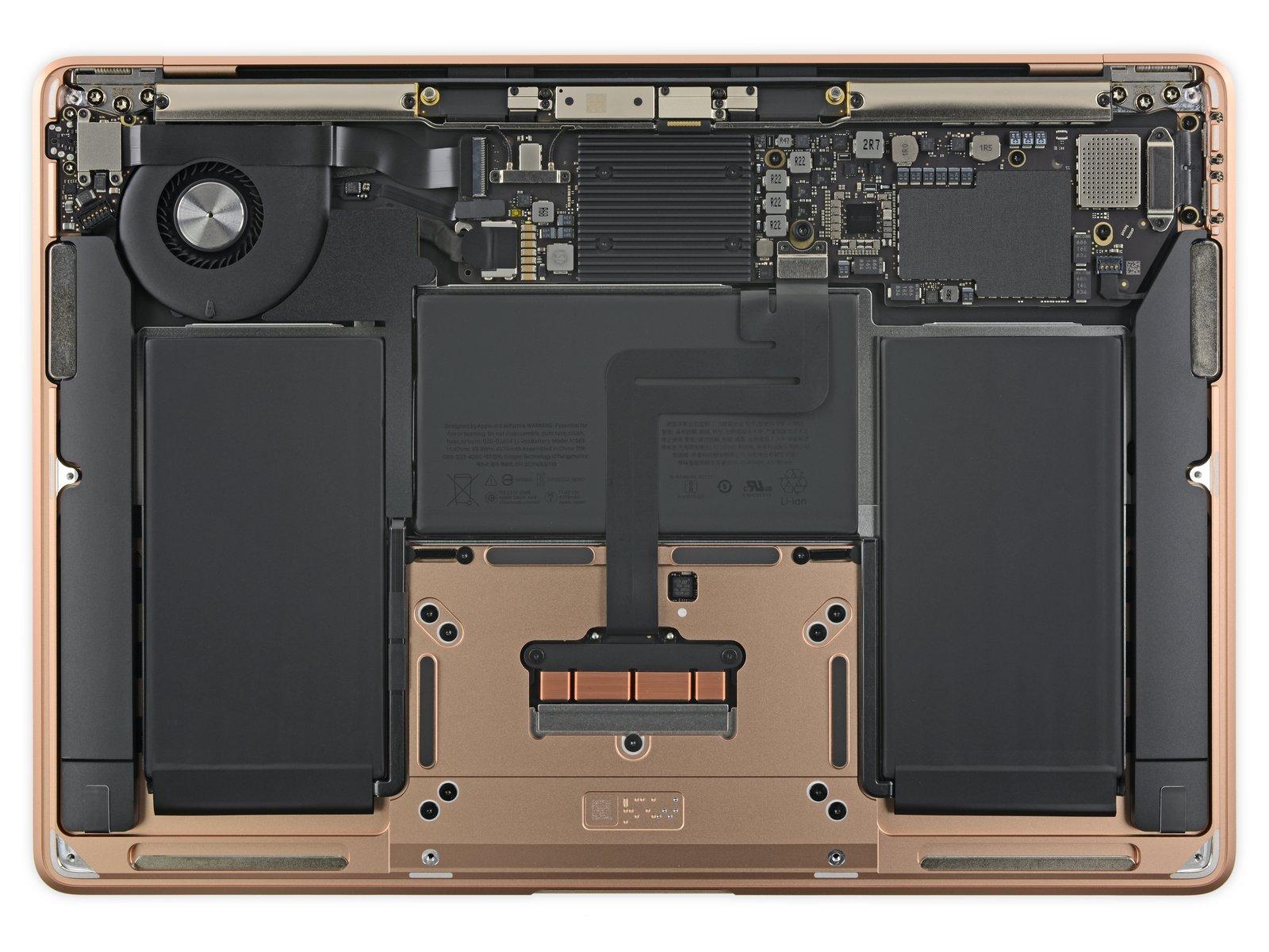 MacBook Air 2018 проверили на ремонтопригодность - фото 3 | Сервисный центр Total Apple