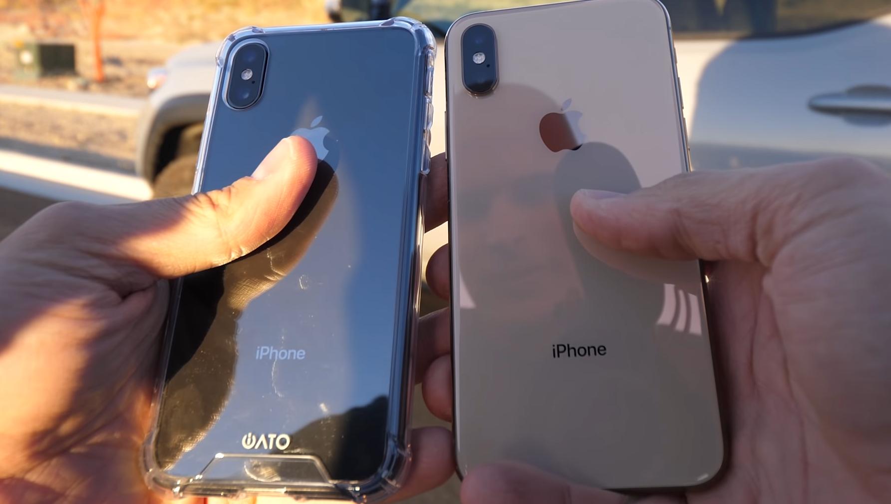 Разбивается ли iPhone XS Max, если уронить его на асфальт? - фото 1 | Сервисный центр Total Apple
