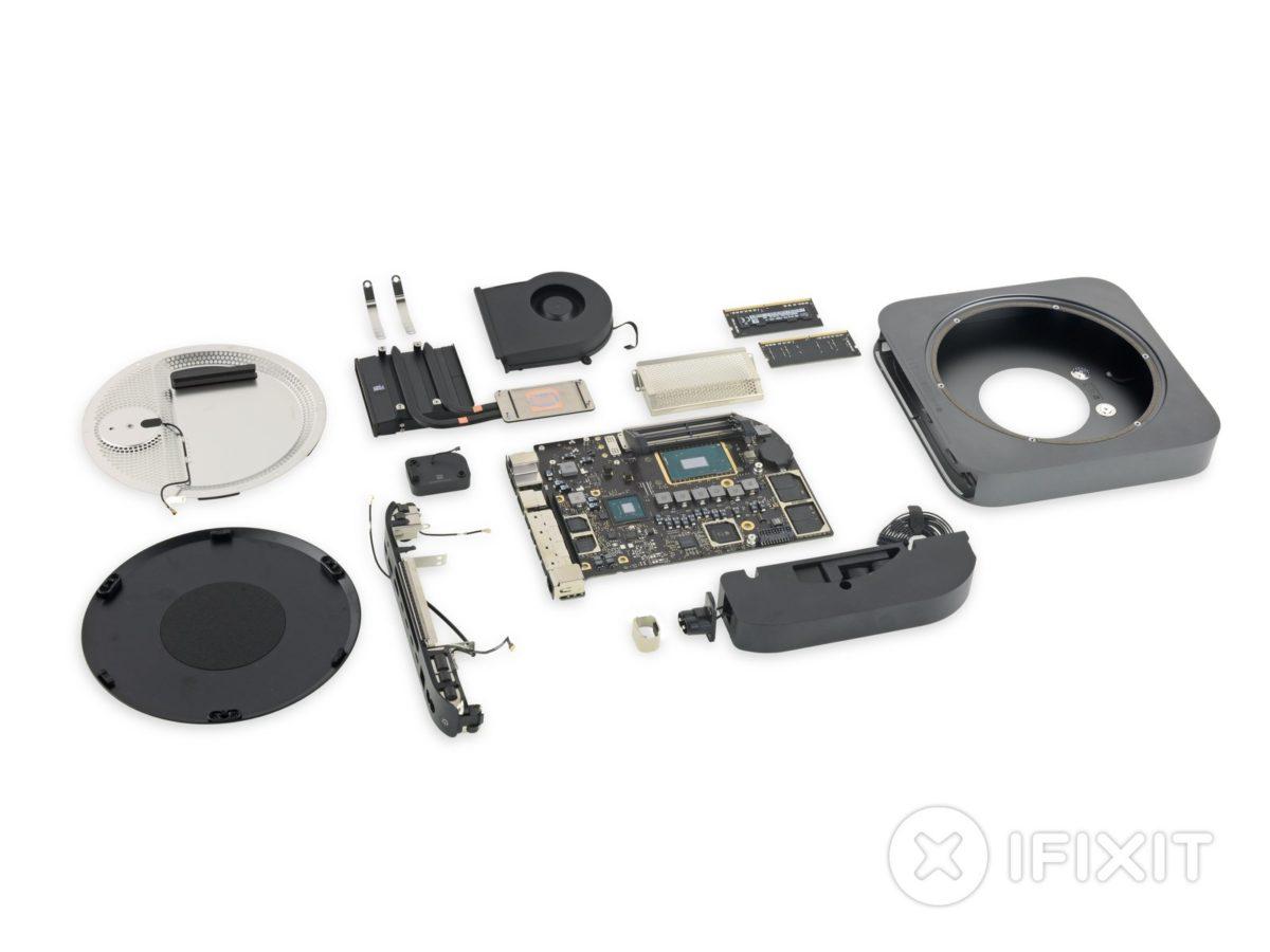 Эксперты оценили ремонтопригодность нового Mac Mini - фото 101 | Сервисный центр Total Apple