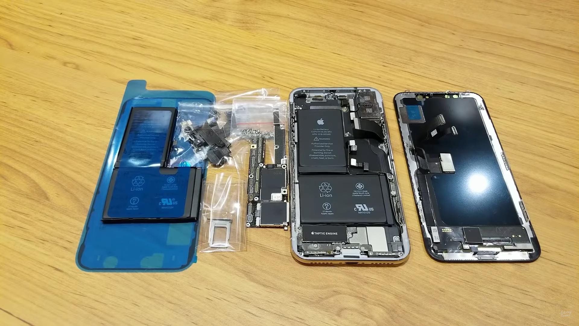 Блогер собрал iPhone X из купленных на китайских рынках запчастей - фото 108   Сервисный центр Total Apple